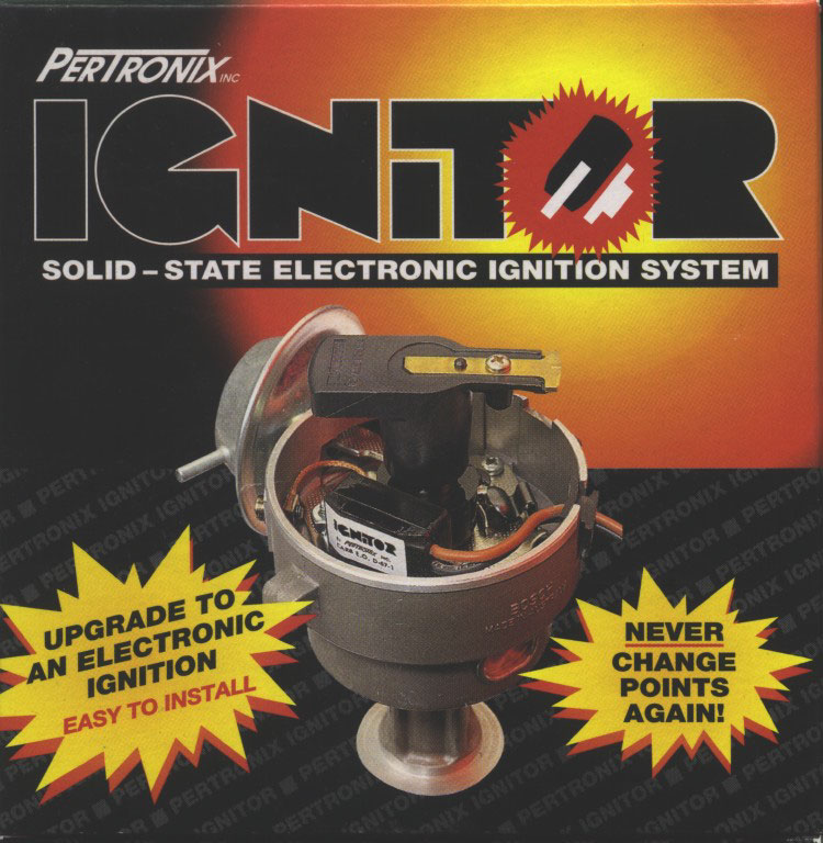 pertronix electronic ignition installation for ford falcon six page