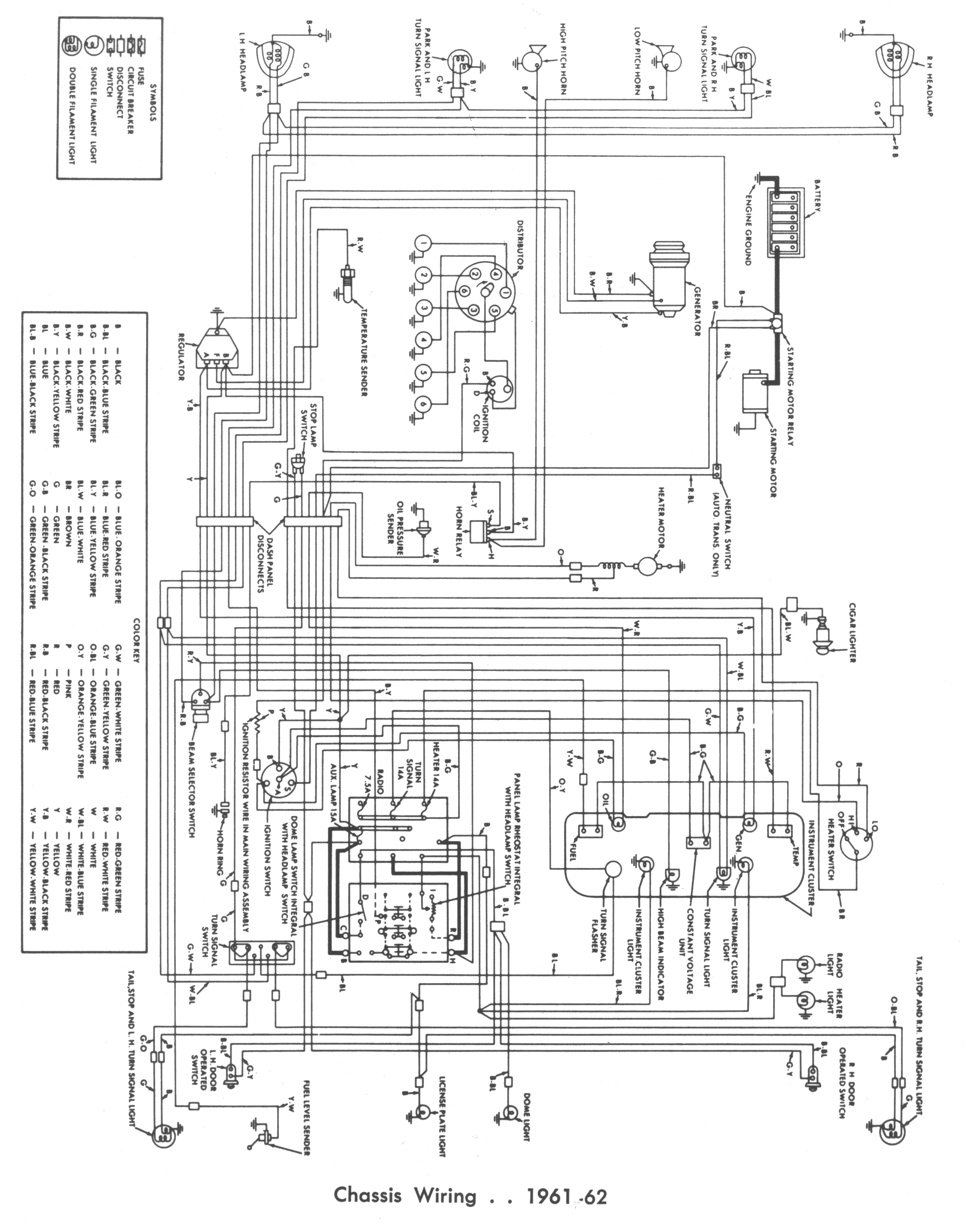 61 ford falcon wiring diagram