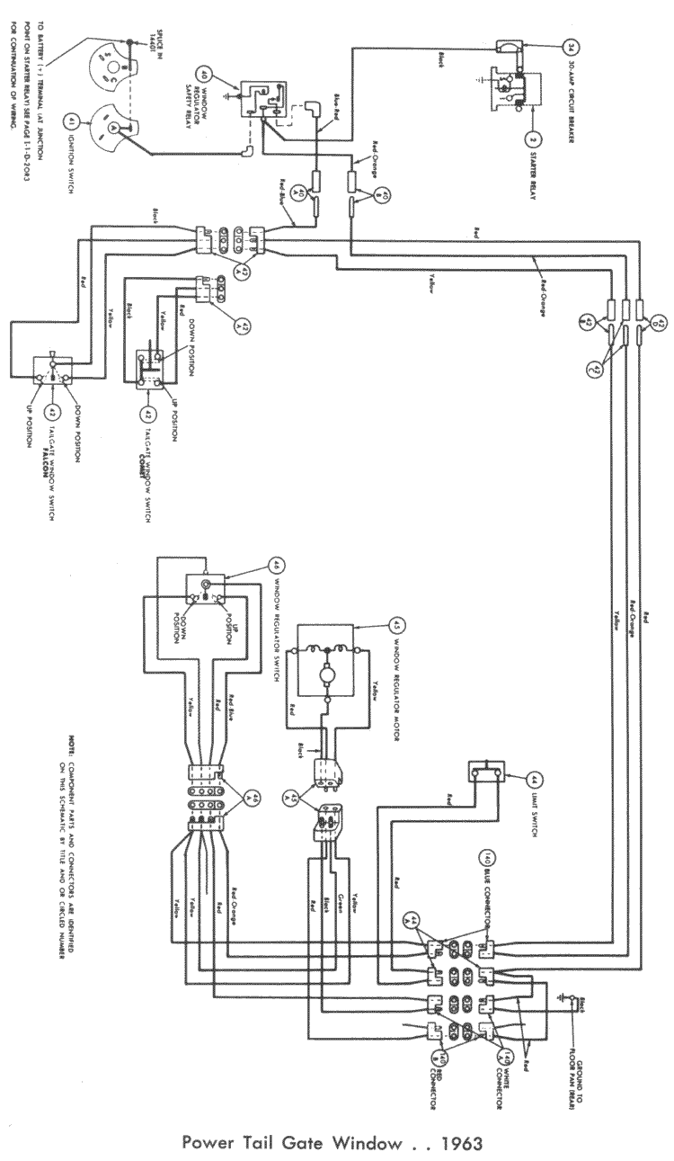 Wiring 61 62 143L falcon wiring diagrams 1964 ford falcon wiring diagram at fashall.co