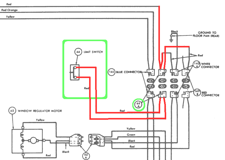Wiring 61 62 143Lclip tailgate window limit switch restoration limit switch wiring diagram at soozxer.org