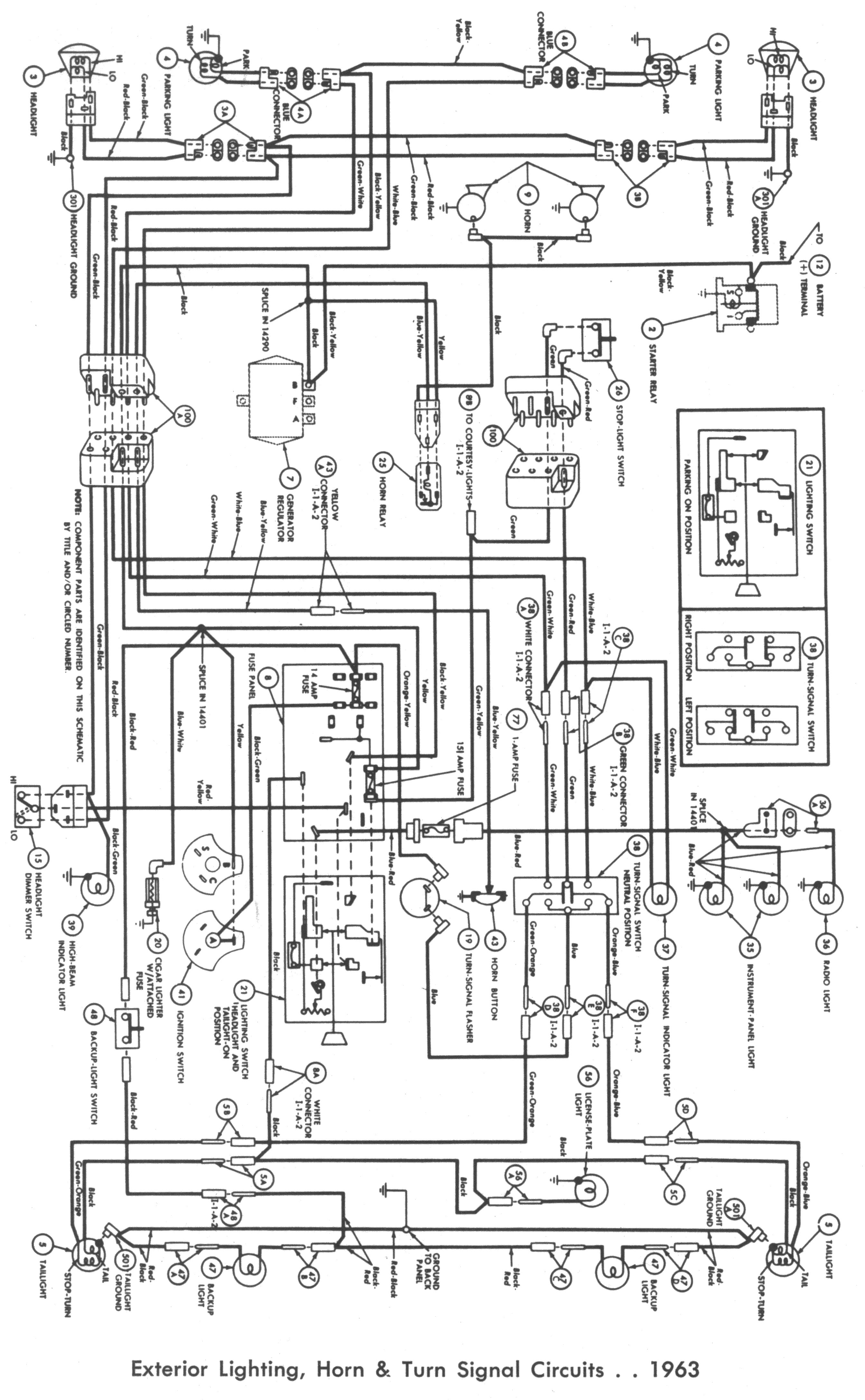 Wiring 61 62 144La falcon wiring diagrams 1964 ford falcon wiring diagram at suagrazia.org