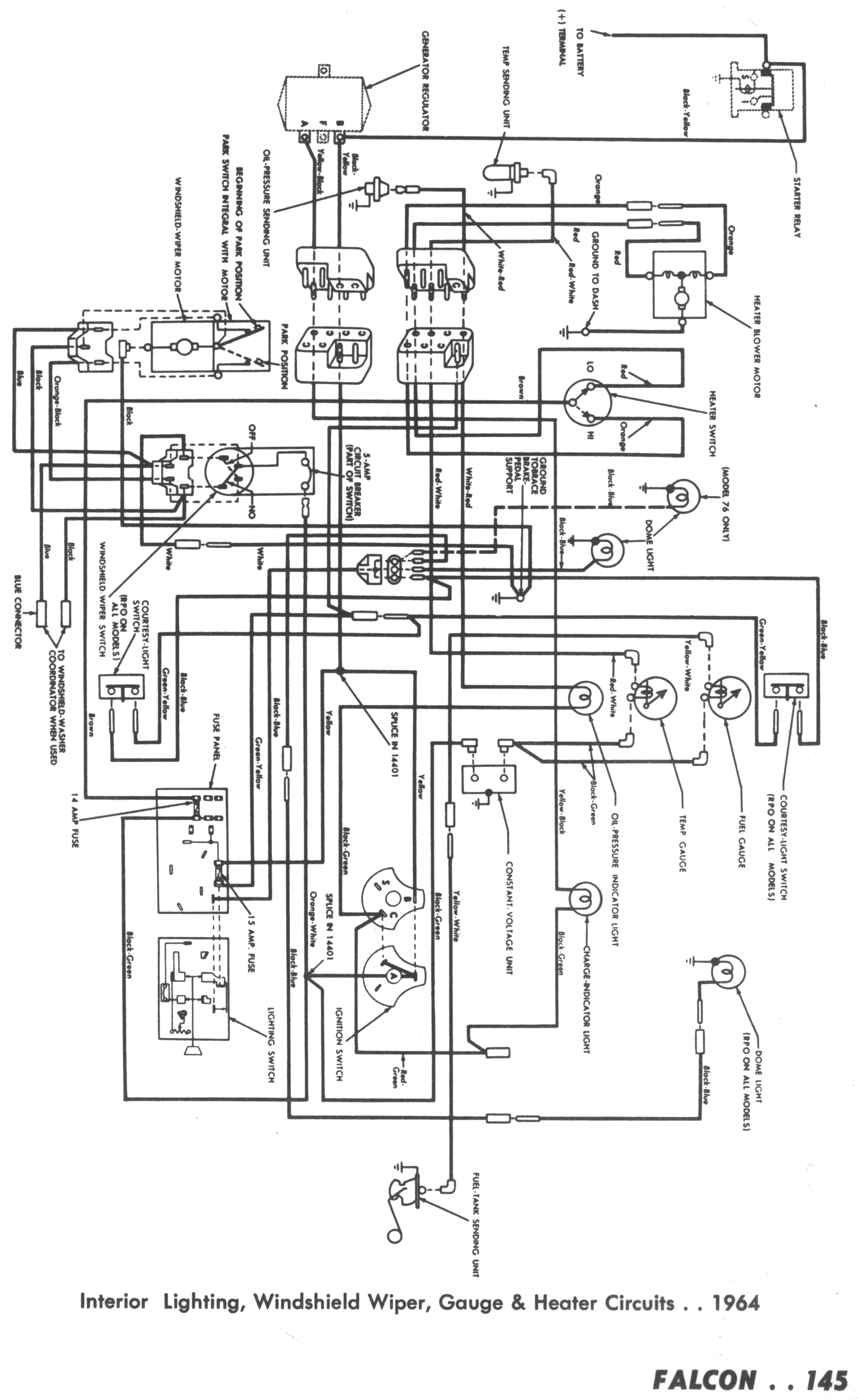 Falcon Wiring Diagrams Half Switched Schematic Diagram Print Version 13mb